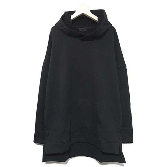 【ラス パーカー】 l.o.s ラス Rib less hoodie black lossw01