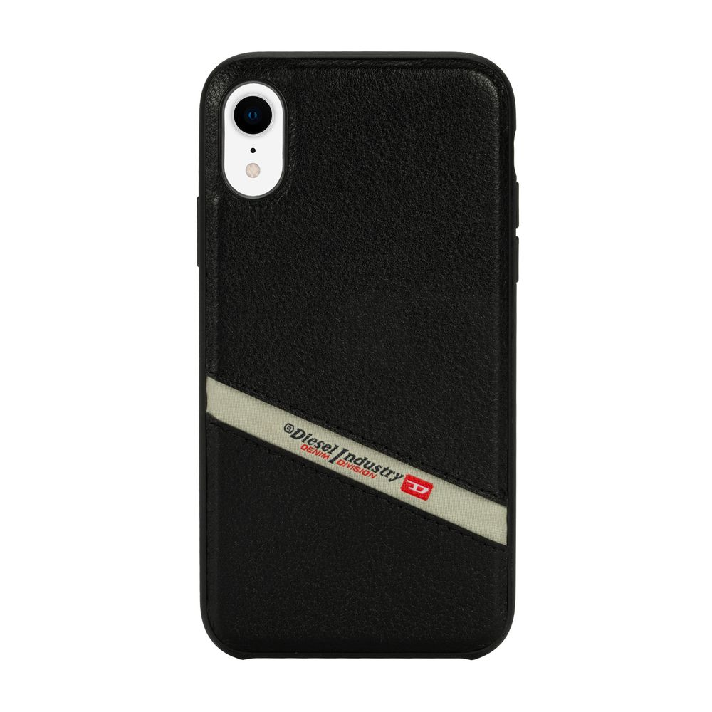 DIESEL ディーゼル Leather Co-Mold Case for iPhone XR