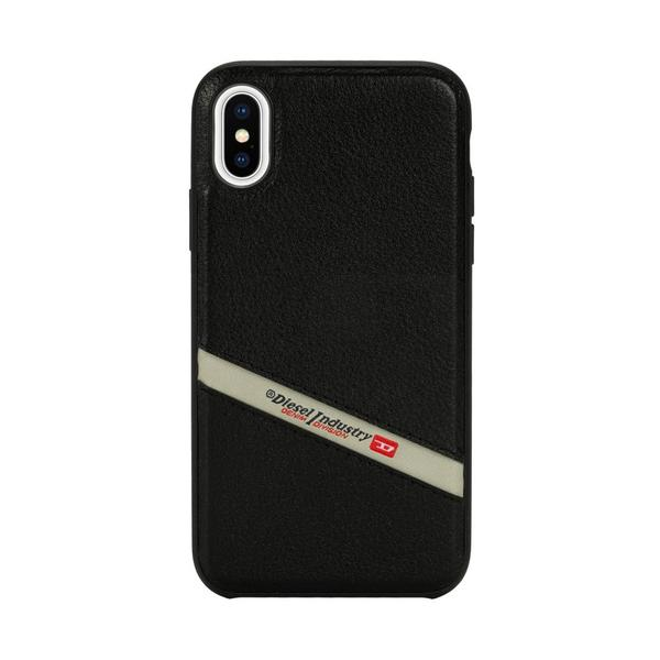 DIESEL ディーゼル Leather Co-Mold Case for iPhone XS