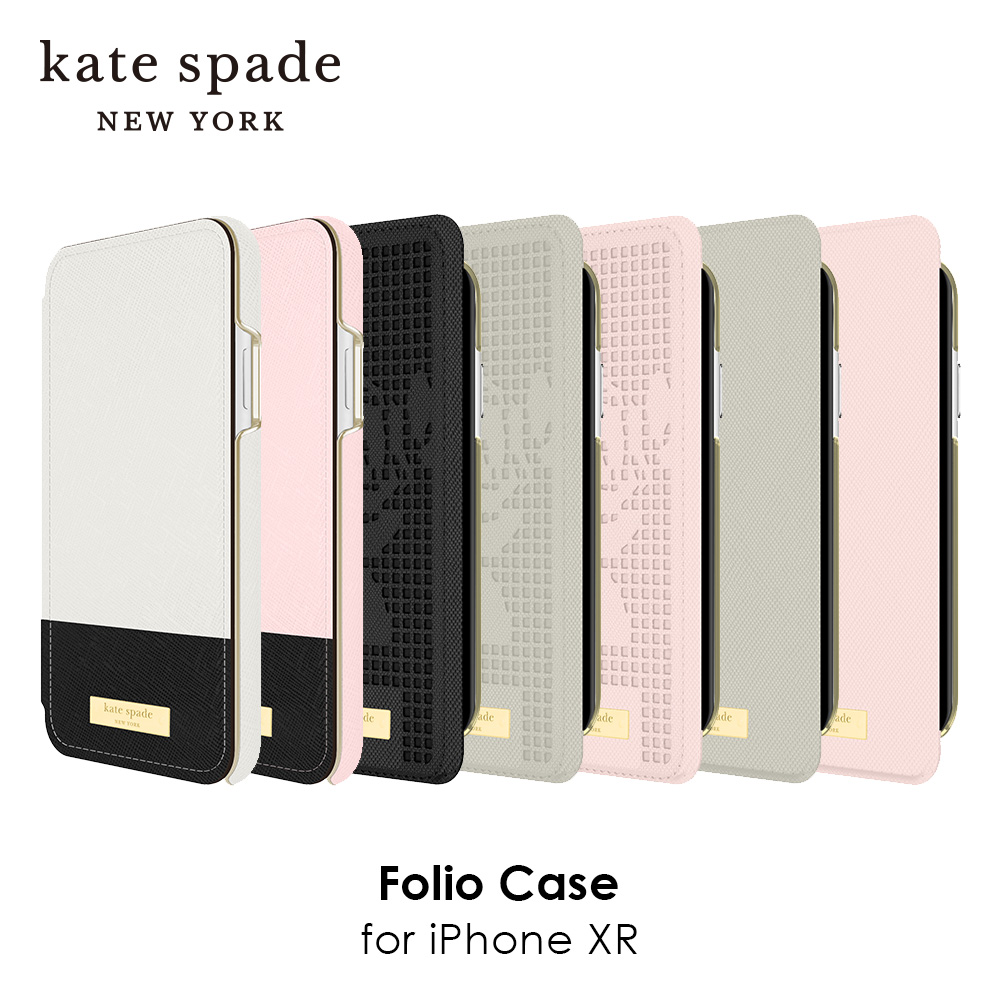 kate spade new york ケイトスペード Folio Case for iPhone XR