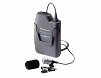 Panasonic 300MHz帯PLL タイピン形ワイヤレスマイクロホン WX-1800