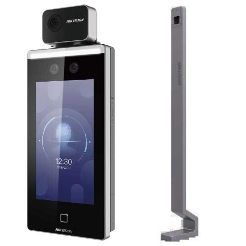 HIKVISION タブレット型体表温測定サーマルカメラ フロアスタンド付き DS-K1TA70MI-T-FST