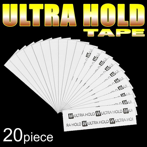 かつら用両面テープ かつら用テープ 保障 国内在庫 ウルトラホールド ULTRA TAPE HOLD 20枚入り