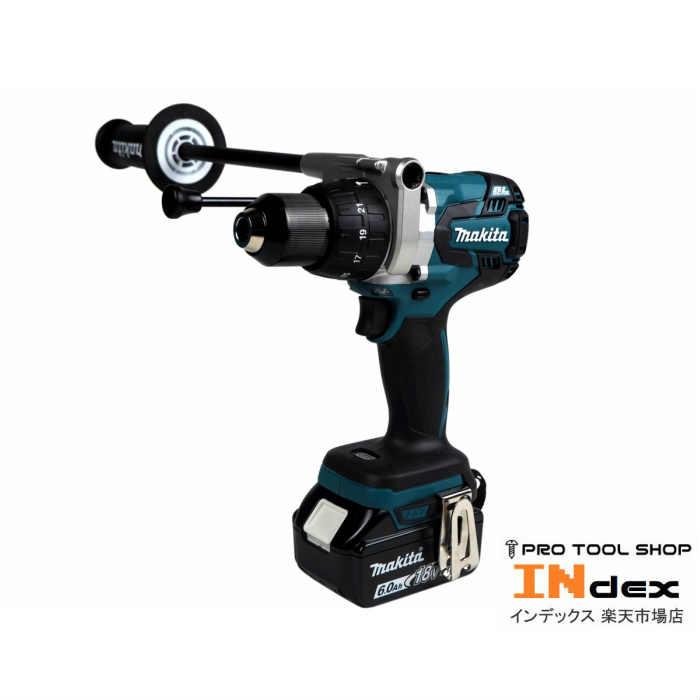 【新品未使用】 マキタ 充電式振動ドライバドリル HP481DRGX 18V 6.0Ah セット ハイパワー 大型ブラシレスモーター サイドグリップ付