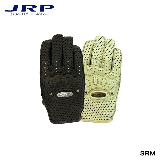 【JRP/ジェイ・アール・ピー】バイク用グローブ SRM レザー 手袋