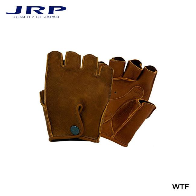 【JRP/ジェイ・アール・ピー】バイク用グローブ WTF レザー 手袋