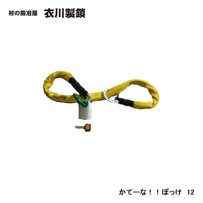【衣川製鎖工業株式会社】 かてーな!!ぽっけ 12 1.2m