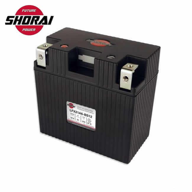 送料無料!【SHORAI Battery 】LFX21A6-BS12 ショウライバッテリー ショーライバッテリー