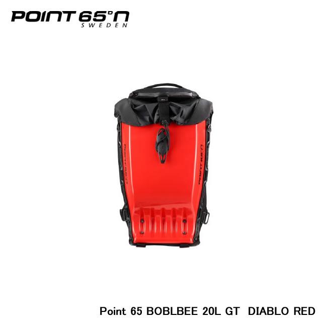 【Point 65°n/ポイントシックスティーファイブ】 Point 65 BOBLBEE 20L GT 色:DIABLO RED 品番:65-B20GT-GRD