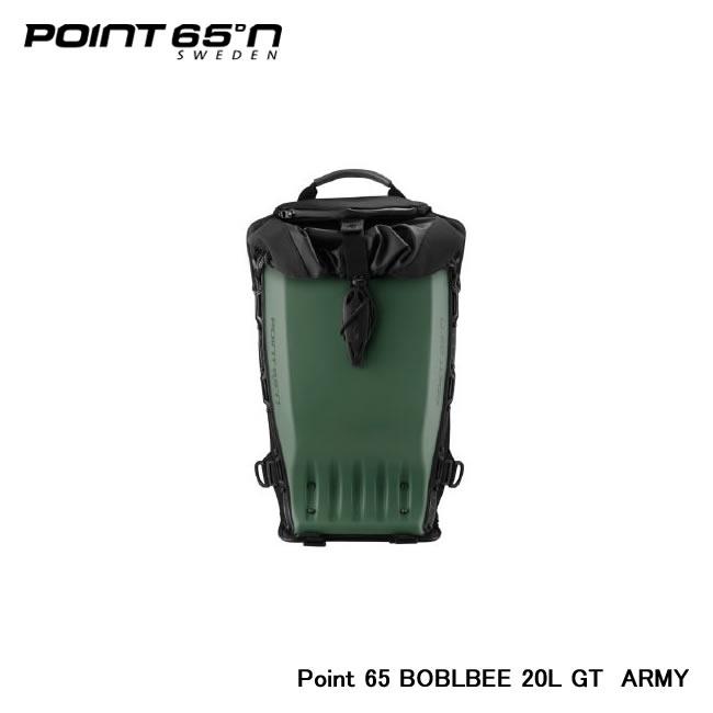【Point 65°n/ポイントシックスティーファイブ】 Point 65 BOBLBEE 20L GT 色:ARMY 品番:65-B20GT-MAG