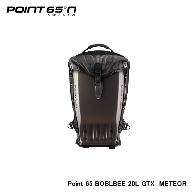 【Point 65°n/ポイントシックスティーファイブ】 Point 65 BOBLBEE 20L GTX 色:METEOR 品番:65-B20GX-MGY