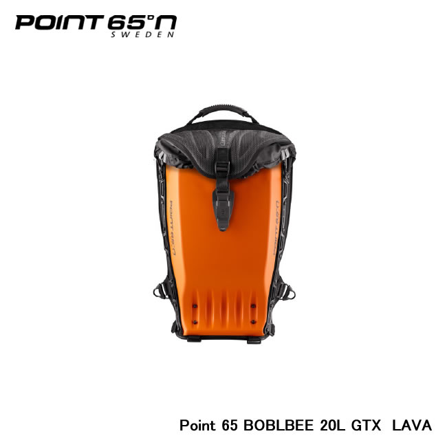【Point 65°n/ポイントシックスティーファイブ】 Point 65 BOBLBEE 20L GTX 色:LAVA 品番:65-B20GX-MOR