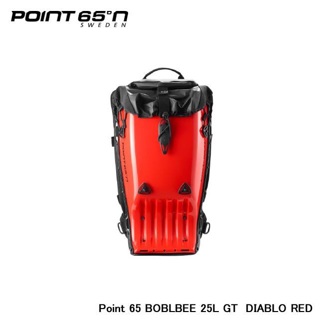 【Point 65°n/ポイントシックスティーファイブ】 Point 65 BOBLBEE 25L GT 色:DIABLO RED 品番:65-B25GT-GRD