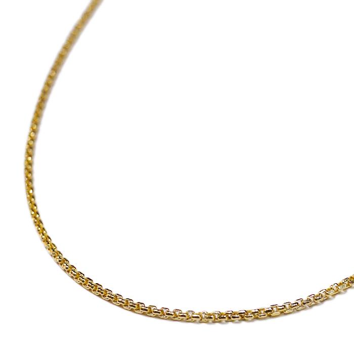 【送料無料】LAX JEWELRY 10K YELLOW GOLD CHAIN【YELLOW GOLD】(ジュエリー アクセサリー ネックレス チェーン ゴールド 10金 55cm)