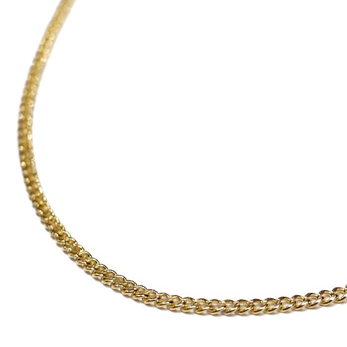 【送料無料】LAX JEWELRY 10K YELLOW GOLD CUBAN CHAIN【YELLOW GOLD】(ジュエリー アクセサリー ネックレス チェーン ゴールド 10金 キューバン 55cm)