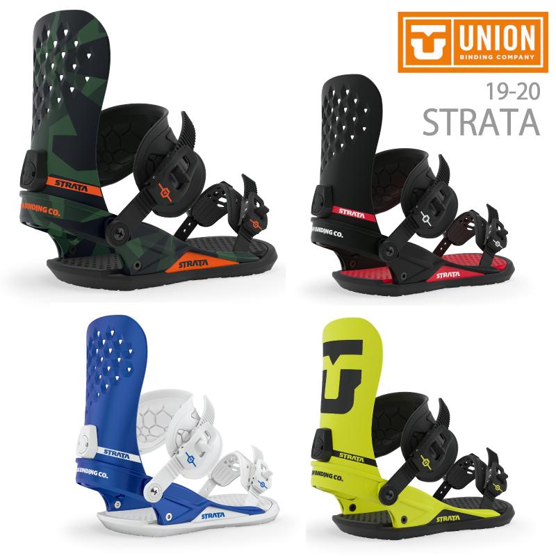 UNION BINDING ユニオン STRATA ストラータ メンズ 19-20 スノーボード ビンディング バインディング