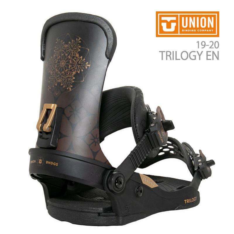 UNION BINDING ユニオン TRILOGY EN トリロジー エン レディース 19-20 スノーボード ビンディング バインディング 34 ミヨン 限定 リミテッド