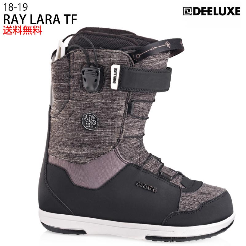 DEELUXE ディーラックス RAY LARA TF レイ ララ ティーエフ レディース 18-19 スノーボード ブーツ サーモインナー 熱成型 BLACK/BURGUNDY