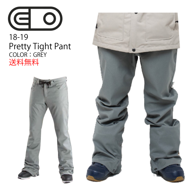 AIRBLASTER エアーブラスター Pretty tight pants プリティー タイトパンツ メンズ 18-19 スキー スノーボード ウェア パンツ GREY/Mサイズ