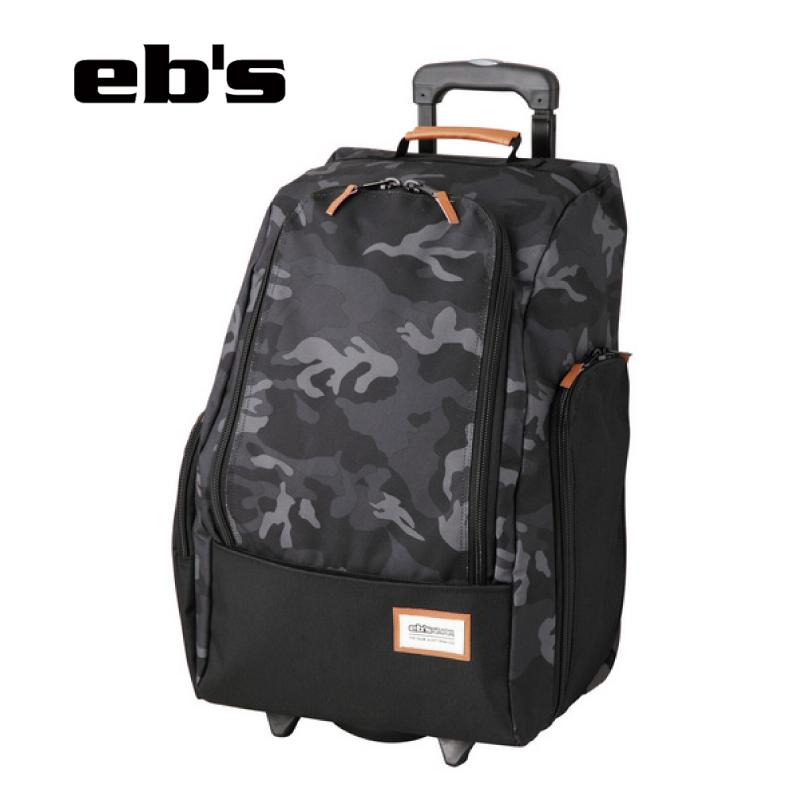 送料無料 あす楽 即発送 正規品 eb's エビス CONTAINER WHEEL コンテナ ウィールバッグ 旅行 コロコロ ウイール 19-20 迷彩 鞄 情熱セール バッグ 世界の人気ブランド 51リットル