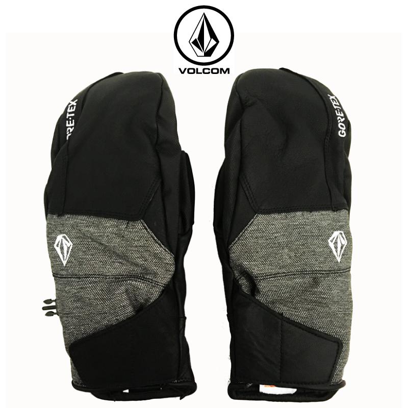 VOLCOM ボルコム DOII GORE MITT ボルコム ミット メンズ 19-20 スノーボード スキー グローブ 手袋 ミトン ゴアテックス BLACK Mサイズ