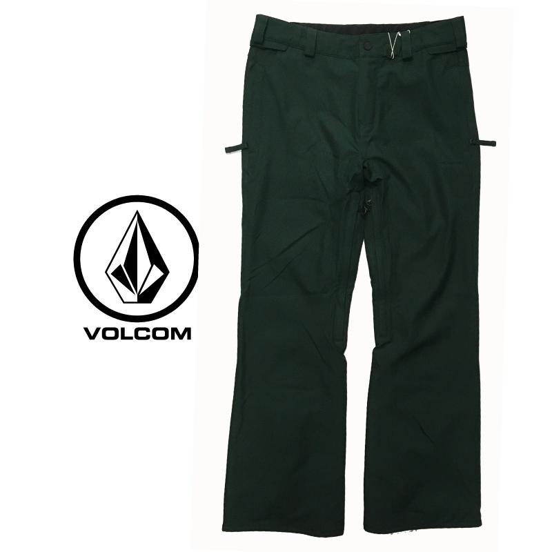 VOLCOM ボルコム FREAKIN SNOW CHINO PANTS メンズ 19-20 スキー スノーボード ウェア パンツ 緑 グリーン DARK GREEN Mサイズ