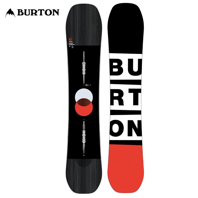 送料無料 正規品 3年保証 プレチューン・WAX対応可能 BURTON バートン Custom カスタム メンズ 19-20 スノーボード 板 チャネル キャンバー 154cm