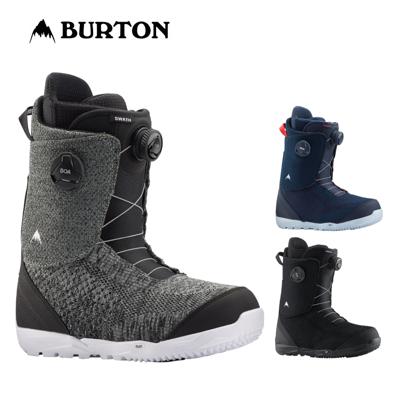 BURTON バートン SWATH BOA メンズ 19-20 スワス ボア スノーボード ブーツ ダイヤル ワイヤー