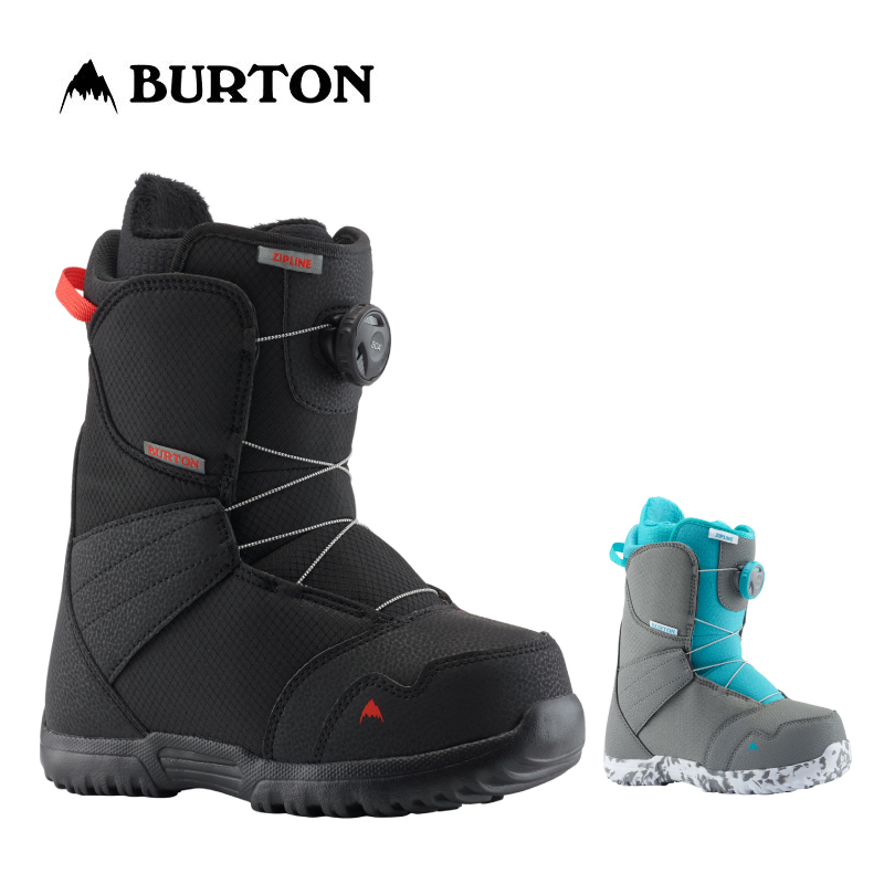 BURTON バートン ZIPLINE BOA キッズ 子供 19-20 ジップライン ボア スノーボード ブーツ ダイヤル ワイヤー