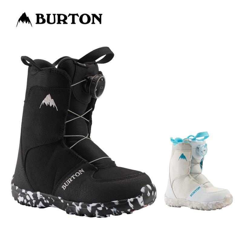 BURTON バートン GROM BOA キッズ 子供 19-20 グロム ボア スノーボード ブーツ ダイヤル ワイヤー