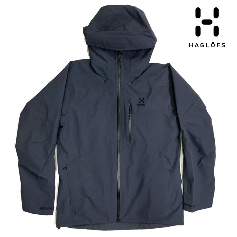 HAGLOFS ホグロフス NENGAL JACKET MEN ネンガル パーカー メンズ 19-20 スキー スノーボード ジャケット Dense Blue Lサイズ