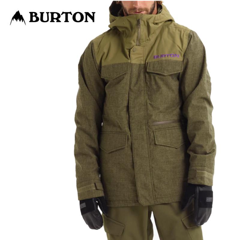 BURTON バートン Covert Jacket メンズ 19-20 スノーボード ウェア ジャケット Keef Heather/Martini Olive Sサイズ