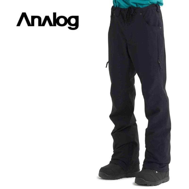 ANALOG アナログ Thatcher Pants パンツ メンズ 19-20 スノーボード ウェア パンツ TrueBlack Lサイズ