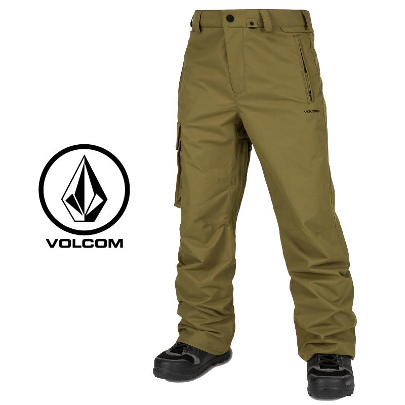 VOLCOM ボルコム VENTRAL PANTS メンズ 19-20 スキー スノーボード ウェア パンツ カーゴ MOSS Mサイズ