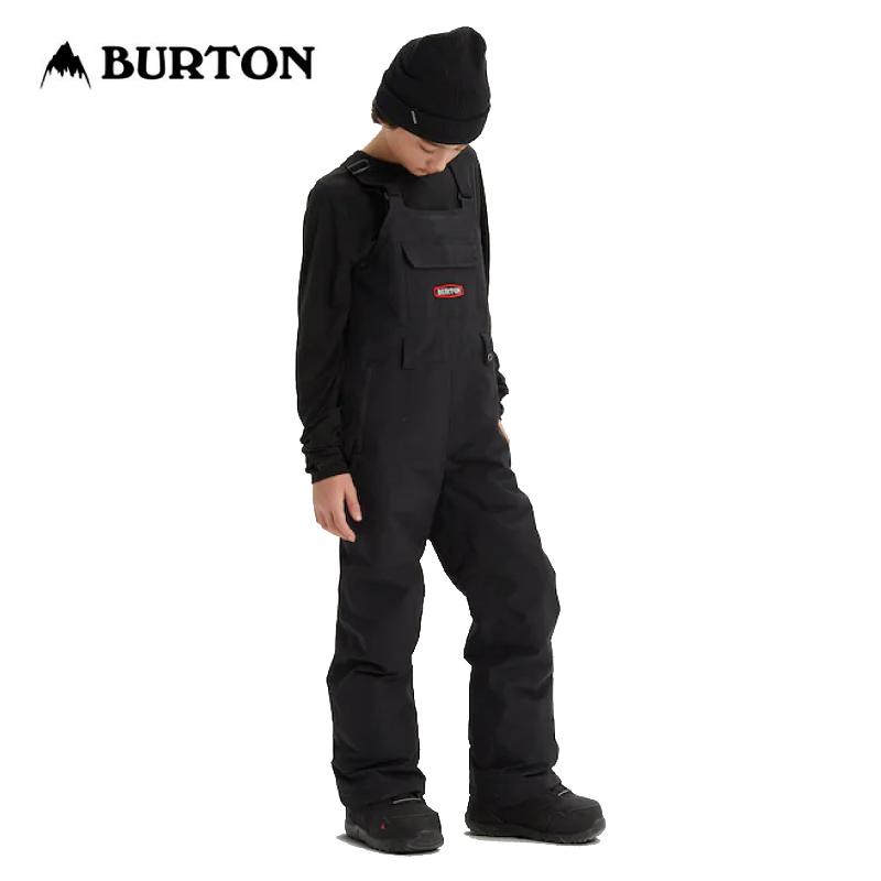 BURTON バートン Kids Burton Skylar Bib Pant 19-20 キッズ 子供 ウェア パンツ ビブ オーバーオール True Black XSサイズ