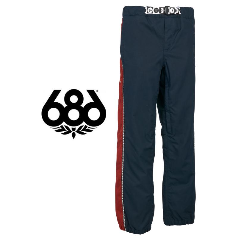 686 SIX EIGHT SIX シックスエイトシックス Catchit Pant メンズ 19-20 スキー スノーボード パンツ ジョガー フォレストベイリー ForestBailey 限定 Navy Mサイズ