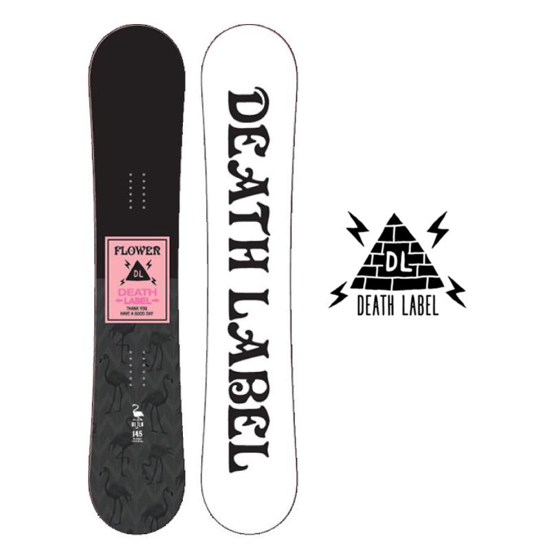 DEATHLABEL デスレーベル FLOWER レディース 19-20 スノーボード 板 ローキャンバー ツインチップ ソフト 138cm
