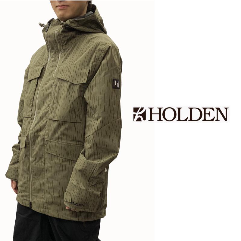 HOLDEN ホールデン M's SANDERS JACKET メンズ 19-20 スキー スノーボード ウェア ジャケット Stone Green Raindrop Camo Mサイズ