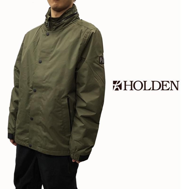 HOLDEN ホールデン M's COACH JACKET メンズ 19-20 スキー スノーボード ウェア ジャケット Stone Green Sサイズ