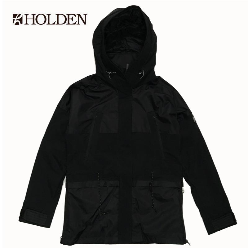 HOLDEN ホールデン W'S OVERSIZED PARKA JACKET レディース 19-20 スキー スノーボード ウェア ジャケット Black Sサイズ