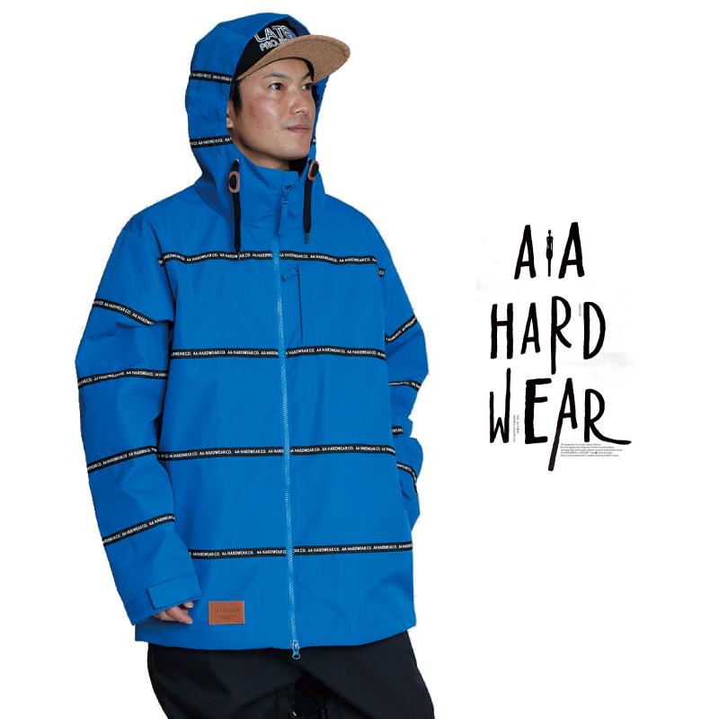 AA HEADWEAR ダブルエー i-D 2 JACKET アイディー ツー ジャケット メンズ 20-21 スキー スノーボード ウェア ジャケット BLUE Lサイズ