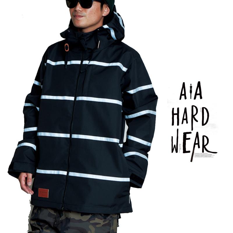 AA HEADWEAR ダブルエー i-D 2 JACKET アイディー ツー ジャケット メンズ 20-21 スキー スノーボード ウェア ジャケット BLACK/REFLECTER Lサイズ