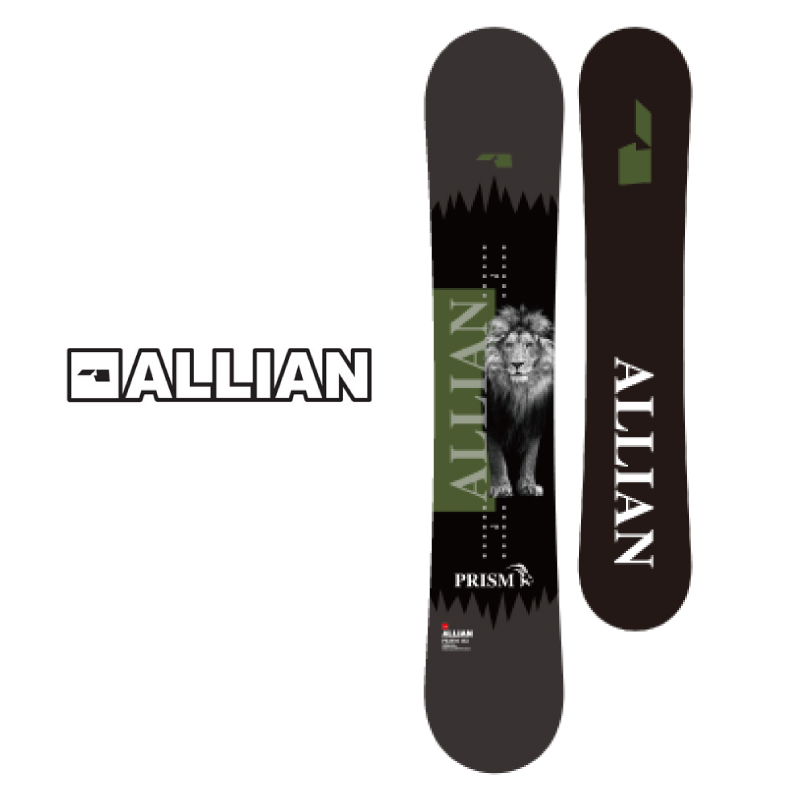 ALLIAN アライアン PRISM CAMBER プリズム キャンバー メンズ 20-21 スノーボード 板 キャンバー ツイン 155cm