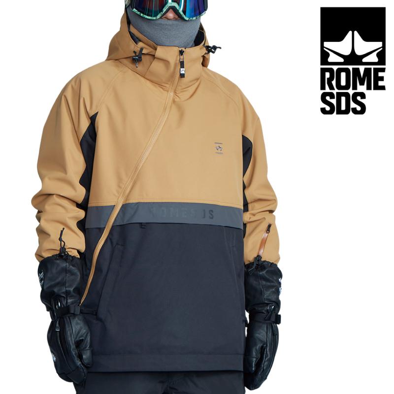 10%OFF 予約商品 優先配送 送料無料 正規品 ROME SDS ローム エスディーエス MEANS JACKET スノーボード 21-22 スキー ジャケット SAND Mサイズ ユニセックス レディース ウェア メンズ 店