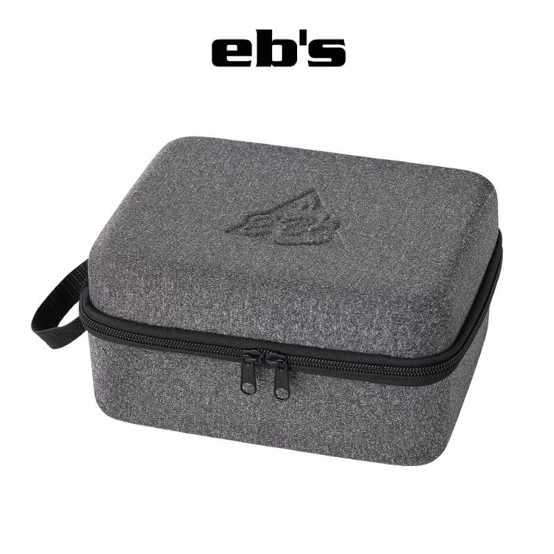 予約商品 定番キャンバス 正規品 eb's エビス GOGGLE 交換無料 CASE-W ゴーグル 21-22 スノーボード スキー ダブル CHARCOAL ハード ケース