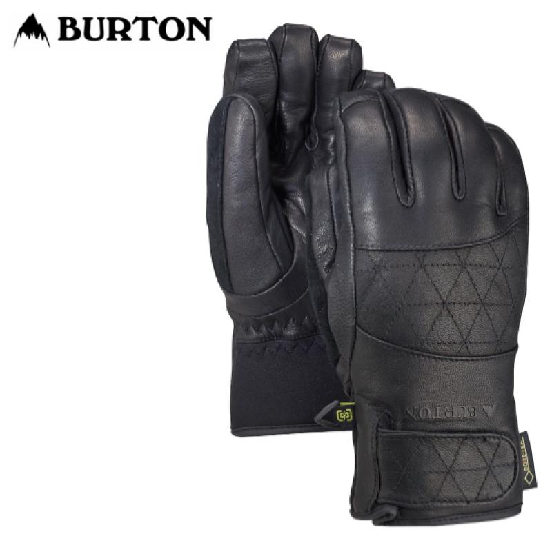 【送料無料】あす楽 即発送 正規品  BURTON バートン Women's Gondy GORE-TEX Leather Glove レディース 21-22 スキー スノーボード 手袋 グローブ 5本指 True Black XSサイズ Sサイズ