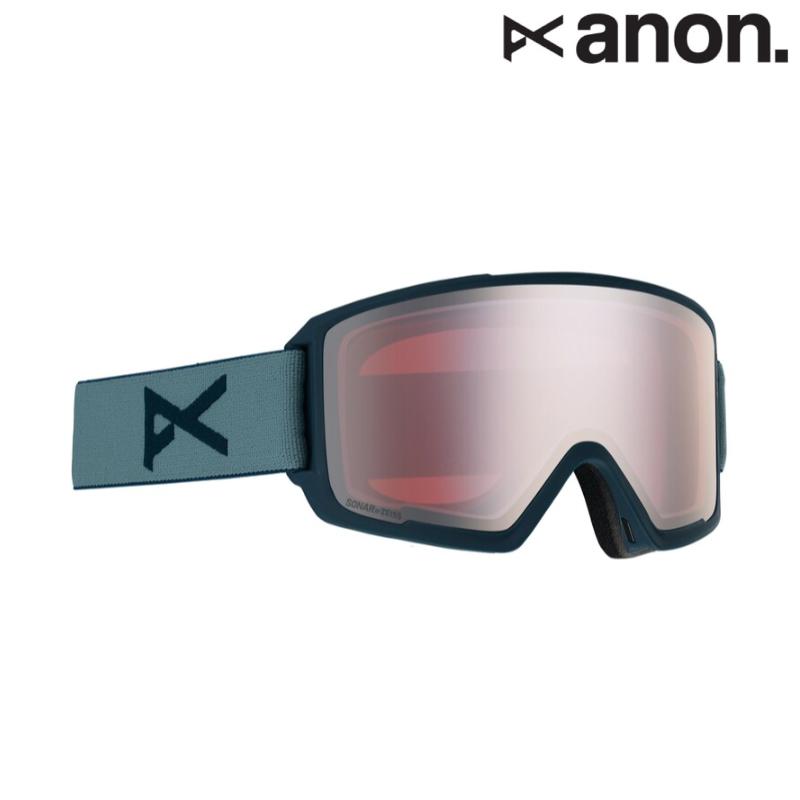 anon アノン M3 Goggle + Spare Lens エムスリー メンズ レディース 19-20 スノーボード スキー ゴーグル 円柱 Frame/Gray Lens/SONAR Silver