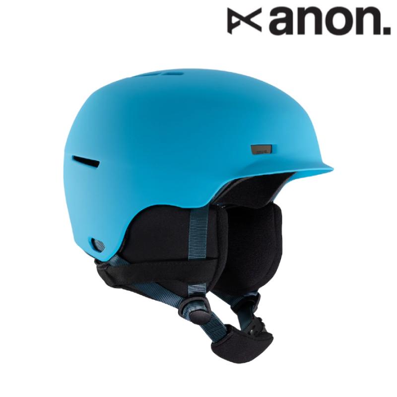 anon アノン Kids' Anon Flash Helmet ヘルメット キッズ ガール 19-20 スノーボード スキー ヘルメット Blue S/Mサイズ