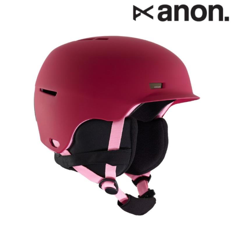 anon アノン Kids' Anon Flash Helmet ヘルメット キッズ ガール 19-20 スノーボード スキー ヘルメット Berry L/XLサイズ