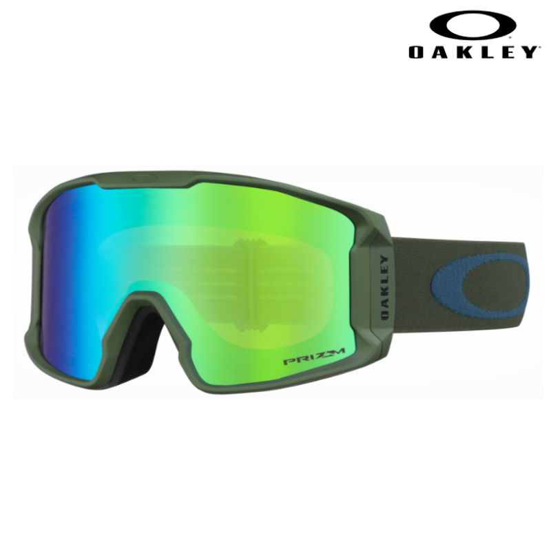 OAKLEY オークリー Line Miner XM Dark Blush Poseidon ラインマイナーエックスエム メンズ レディース 19-20 スキー スノーボード ゴーグル 眼鏡対応 Prizm Sapphire Iridium